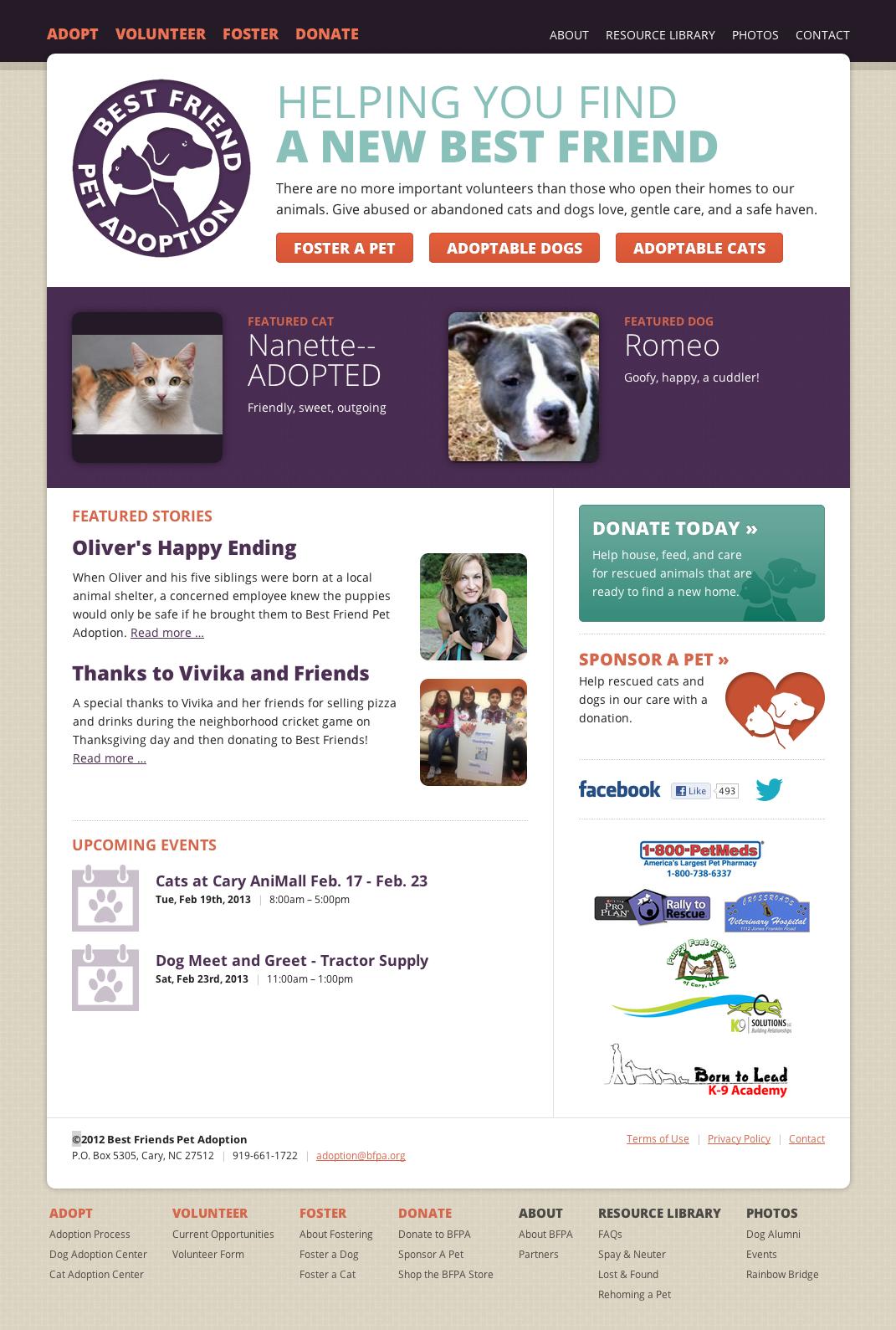 Best Friends Pet Adoption