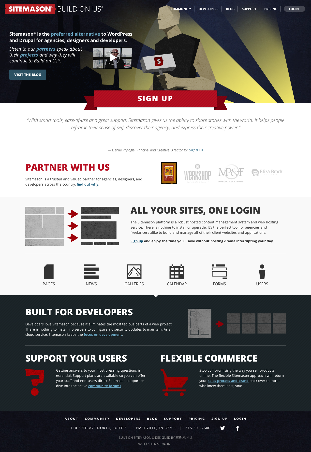 Sitemason Website